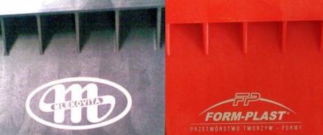 Paleta plastikowa z logo